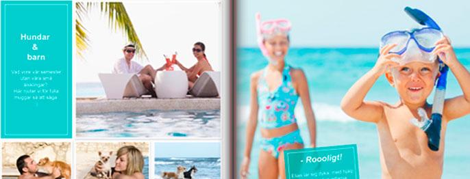 Färger, layout & fotoböcker