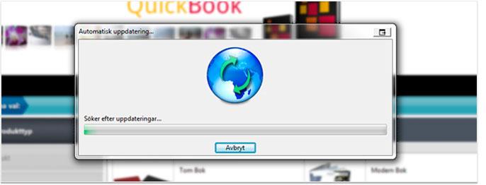 Anslutningsproblem – QuickBook
